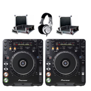 For sell New x2 Pioneer CDJ 1000mk3 + DJM 800 Mixer HDJ 2000 Headphone